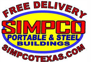 , Portable Buildings, Simpco Portable Buildings